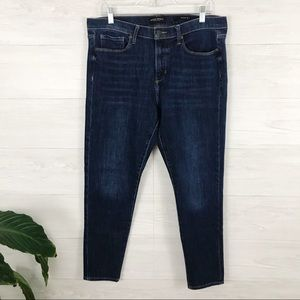 Banana Republic Dark Wash Skinny Denim Jeans 32